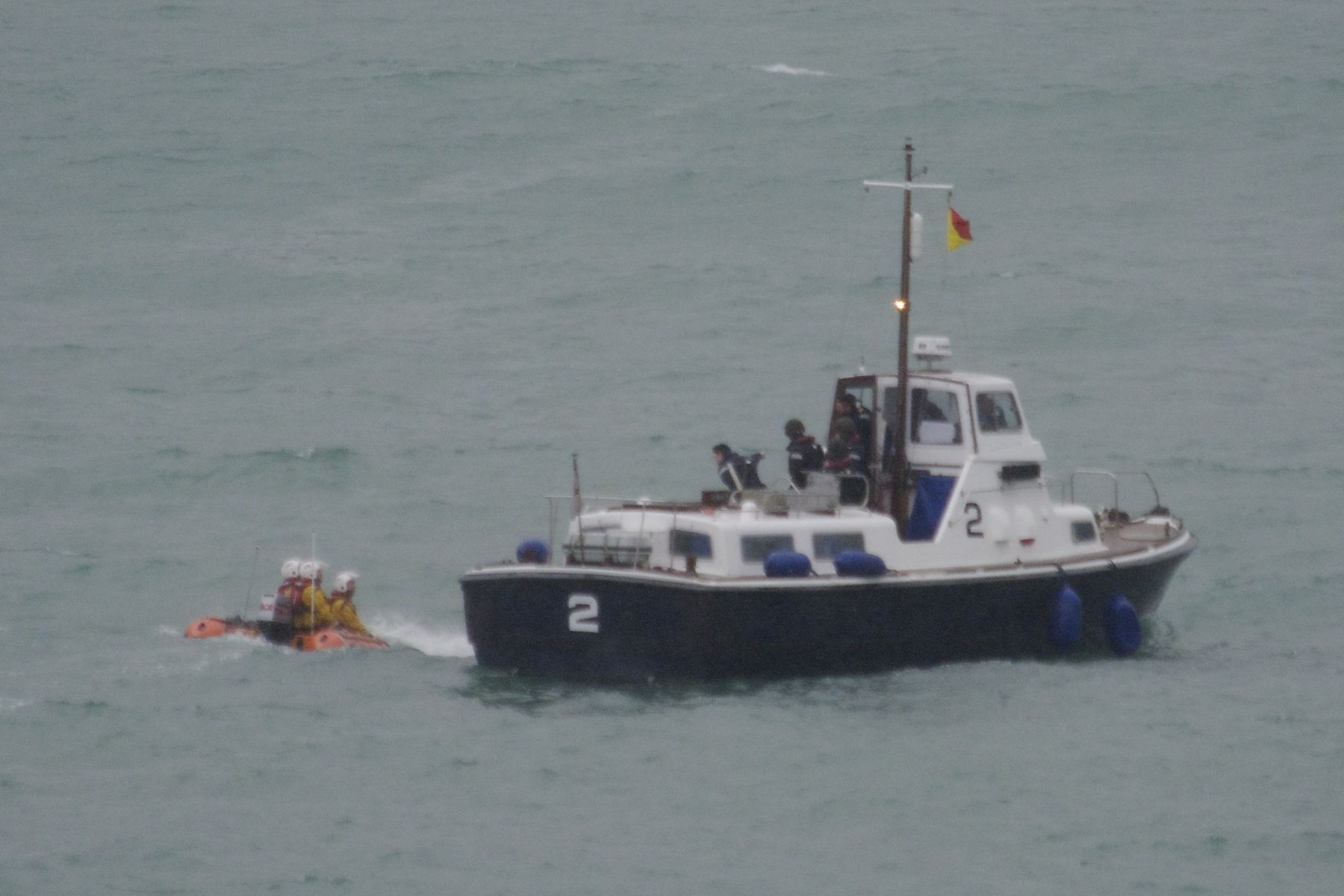 ILB with Picket boat from BRNC